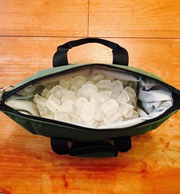 4 lbs. of ice