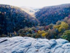 Autumn in the Ozark Mountains