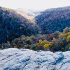 Autumn in the Ozark Mountains